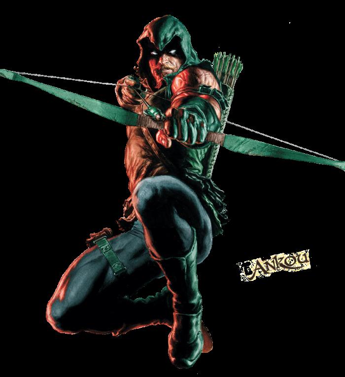 arco-green-arrow-x-ciencia-arqueiro-verde-flatbow
